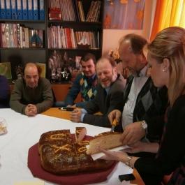 Κοπή Βασιλόπιτας 2012 οικοτροφείου «Αρσινόη»
